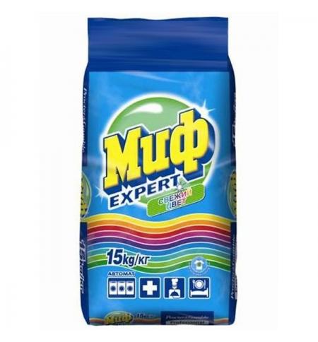 фото: Стиральный порошок Миф Expert свежий цвет 15кг, автомат