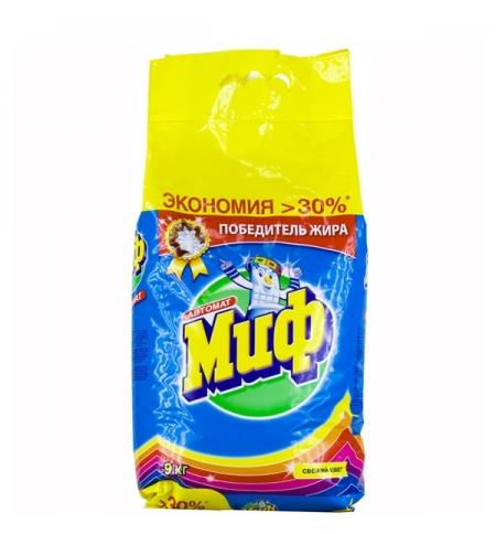 фото: Стиральный порошок Миф Свежий цвет, автомат, 9кг