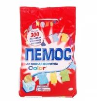 Стиральный порошок Пемос Активная формула Color 2кг, автомат