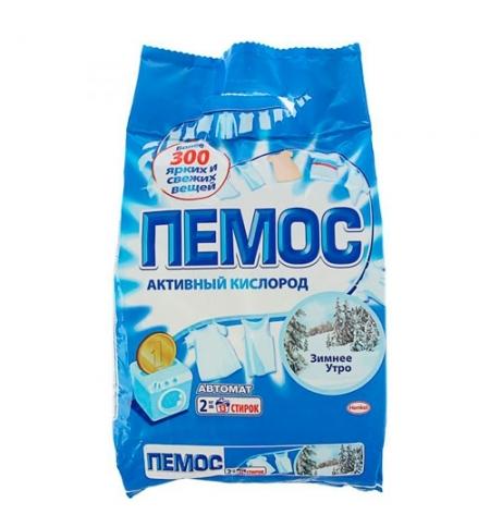 фото: Стиральный порошок Пемос Активный кислород 2кг, зимнее утро