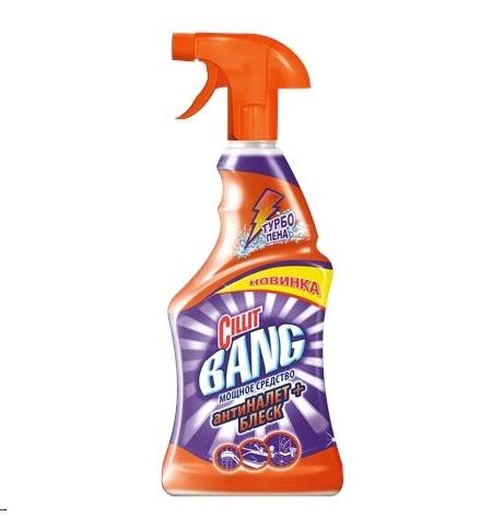 фото: Универсальное чистящее средство Cillit Bang 750мл, антиналет+блеск, спрей