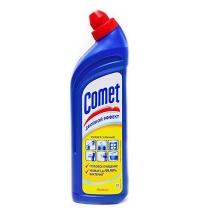 Универсальное чистящее средство Comet Двойной эффект 1л, лимон, гель