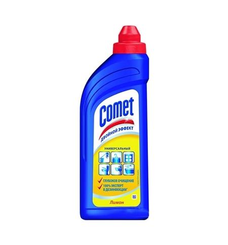 фото: Универсальное чистящее средство Comet Двойной эффект 500мл, лимон, гель