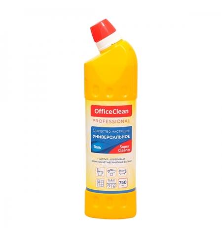 фото: Универсальное чистящее средство Officeclean SuperCleaner 750мл, гель