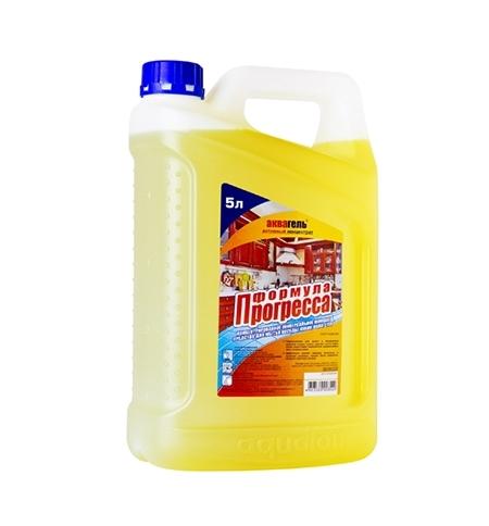 фото: Универсальное чистящее средство Аквагель 5л, формула прогресса, активный концентрат