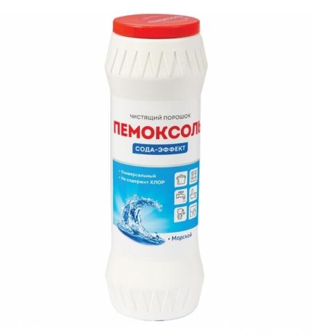фото: Универсальное чистящее средство Пемоксоль Сода-эффект 400г, морской, порошок