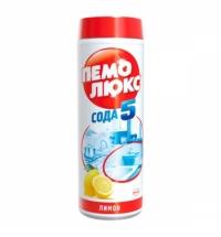 Универсальное чистящее средство Пемолюкс Сода 5 480г, лимон, порошок