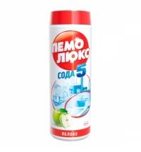Универсальное чистящее средство Пемолюкс Сода 5 480г, яблоко, порошок