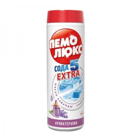 фото: Универсальное чистящее средство Пемолюкс Сода 5 extra 480г, ароматерапия лаванда, порошок