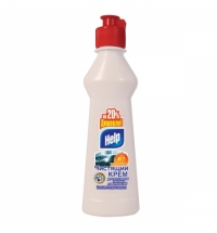 Чистящее средство для кухни Help 300г, апельсин, крем
