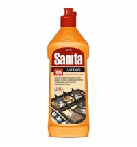 Чистящее средство для кухни Sanita 500мл, антижир, гель
