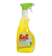Чистящее средство для кухни Аист Rail 500мл, лимон, спрей