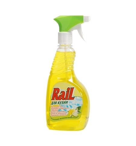 фото: Чистящее средство для кухни Аист Rail 500мл, лимон, спрей