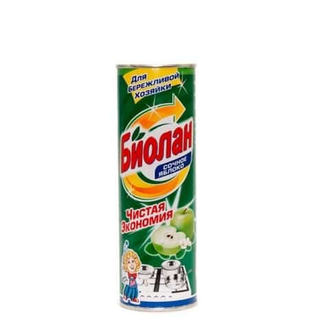 фото: Чистящее средство для кухни Биолан 400г, сочное яблоко, порошок