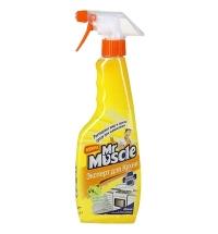 Чистящее средство для кухни Мистер Мускул 450мл, лимон, спрей