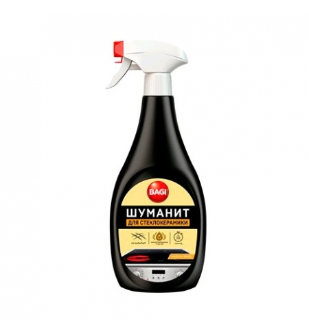 фото: Чистящее средство для стеклокерамики Bagi 500мл, шуманит, спрей