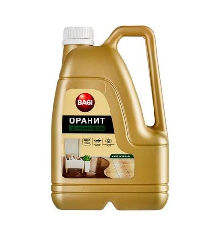фото: Средство для мытья пола Bagi 3л, оранит, концентрат