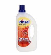 Средство для мытья пола Emsal 1л, для камня и кафеля, жидкость