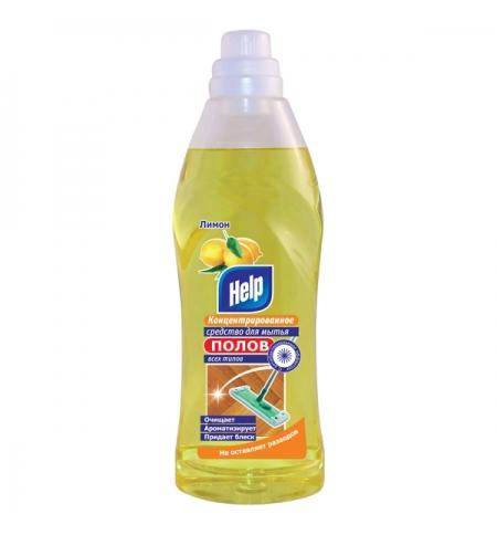 фото: Средство для мытья пола Help 1л, ассорти, концентрат
