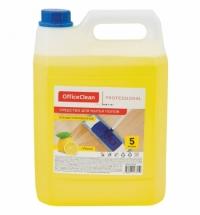 Средство для мытья пола Officeclean Proffesional 5л, лимон, концентрат