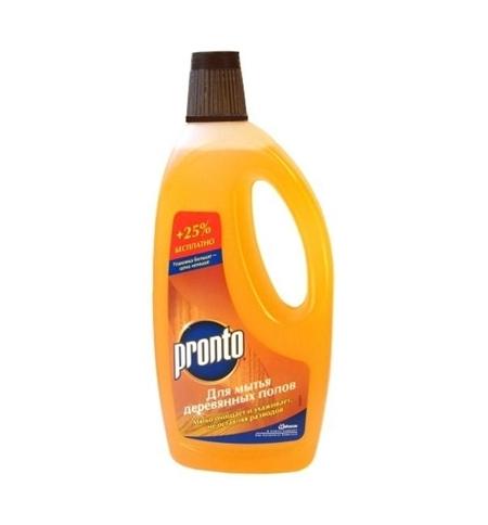 фото: Средство для мытья пола Pronto 750мл, для деревянных поверхностей, жидкость