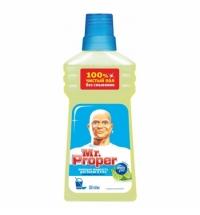 Средство для мытья пола и стен Mr Proper 500мл, лайм/ мята, жидкость