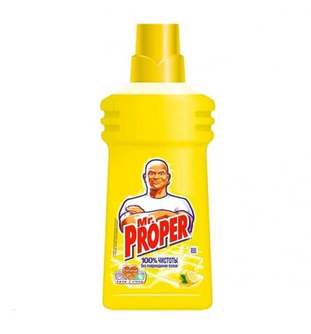 фото: Средство для мытья пола и стен Mr Proper 500мл, лимон, жидкость