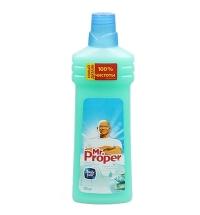 Средство для мытья пола и стен Mr Proper 750мл, горный ручей, жидкость