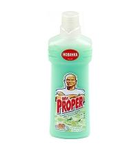 Средство для мытья пола и стен Mr Proper 750мл, лайм/ мята, жидкость