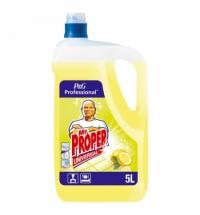 Средство для мытья пола и стен Mr Proper Professional 5л, лимон, жидкость
