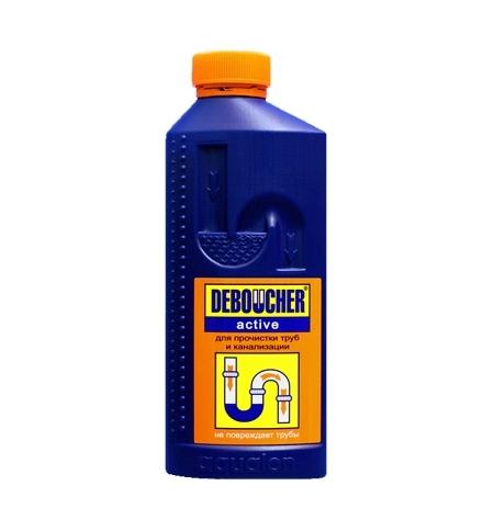 фото: Средство для прочистки труб Deboucher Active 1л, жидкость