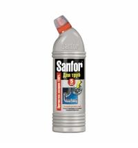 Средство для прочистки труб Sanfor 750мл, гель