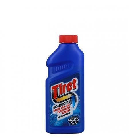 фото: Средство для прочистки труб Tiret Профессионал 500мл, гель