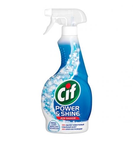 фото: Чистящее средство для сантехники Cif Power&Shine 500мл, спрей, для ванны