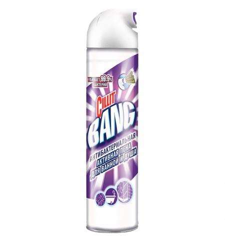 фото: Чистящее средство для сантехники Cillit Bang антибактериальная 600мл, для ванной и душа, активная пе