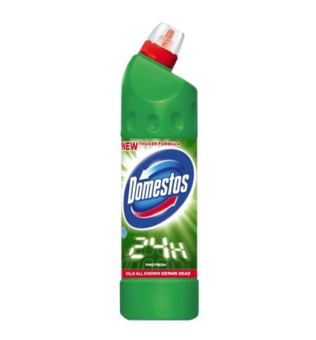 фото: Чистящее средство для сантехники Domestos 1л, хвойная свежесть, гель