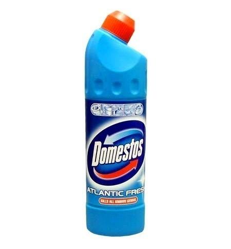 фото: Чистящее средство для сантехники Domestos 500мл, атлантическая свежесть, гель
