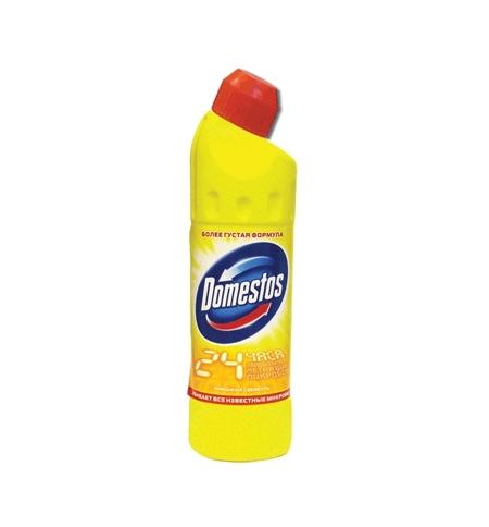 фото: Чистящее средство для сантехники Domestos 500мл, лимонная свежесть, гель