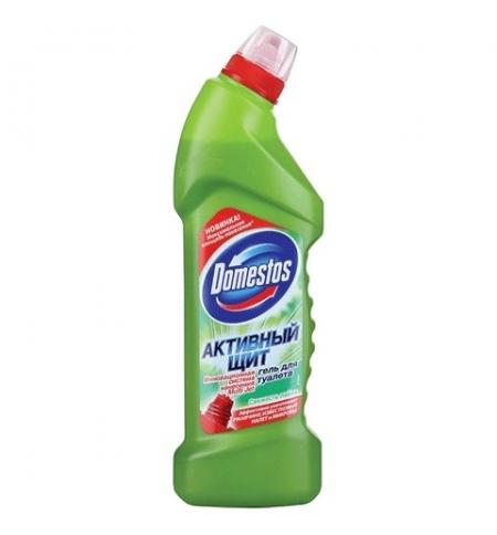 фото: Чистящее средство для сантехники Domestos Активный щит 750мл, свежесть лайма, гель