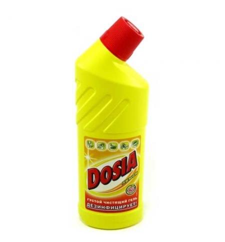 фото: Чистящее средство для сантехники Dosia 750мл, лимон, гель, top-40