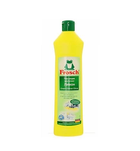 фото: Чистящее средство для сантехники Frosch 500мл, лимон, молочко