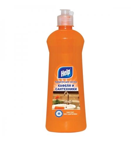 фото: Чистящее средство для сантехники Help 500мл, для кафеля и сантехники