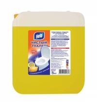 Чистящее средство для сантехники Help Чистый туалет 5л, лимон, гель
