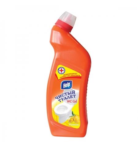 фото: Чистящее средство для сантехники Help Чистый туалет 750мл, ассорти, гель