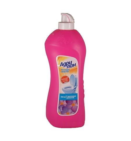 фото: Чистящее средство для сантехники Адрилан 850мл, от ржавчины, с цветочным ароматом, гель
