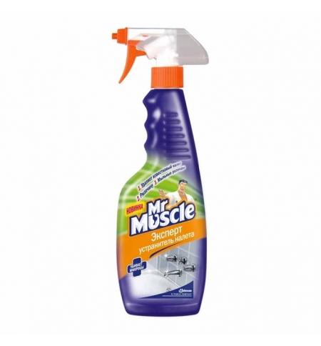 фото: Чистящее средство для сантехники Мистер Мускул Эксперт 500мл, устранитель налета, спрей