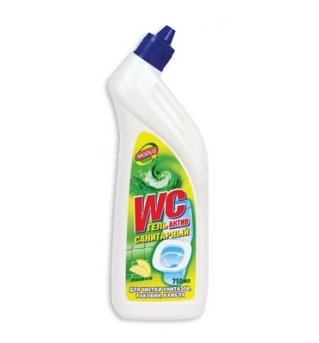 фото: Чистящее средство для сантехники Санитарный 750мл, актив, гель