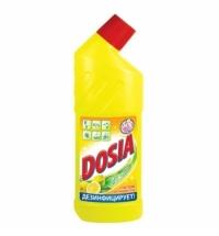Чистящее средство для унитаза Dosia 750мл, лимон, гель