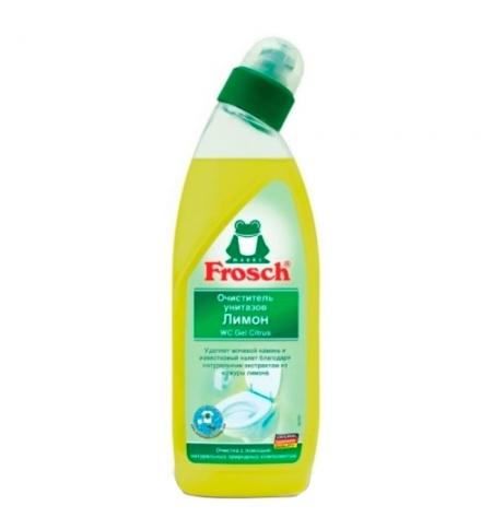 фото: Чистящее средство для унитаза Frosch 750мл, лимон, гель