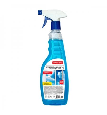 фото: Моющее средство для стекол Officeclean Блеск 500мл, спрей